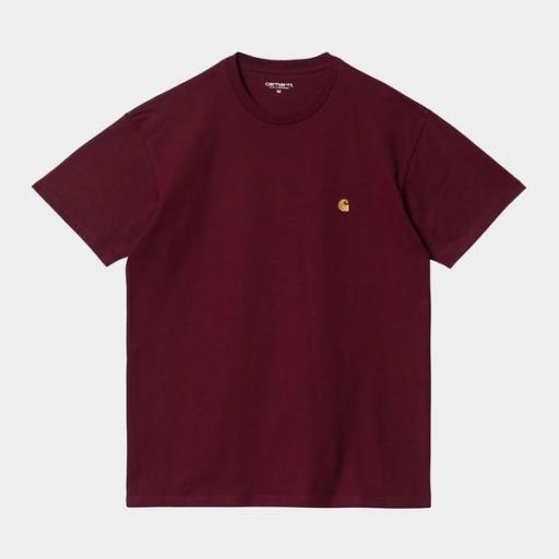 CARHARTT Camiseta S/S Chase Jam Gold
