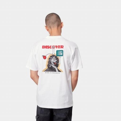 CARHARTT Camiseta S/S Discover T-Shirt White
