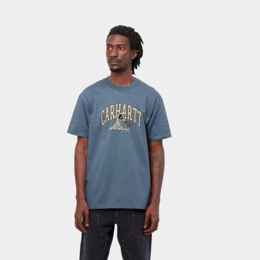 CARHARTT Camiseta S/S Kogancult Crystal T-Shirt Icesheet