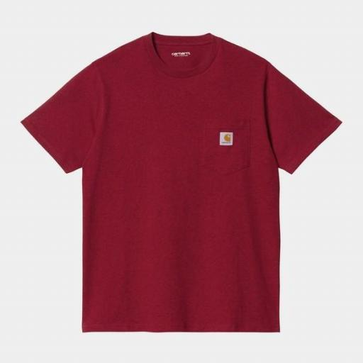 CARHARTT Camiseta S/S Pocket Arrow Heather