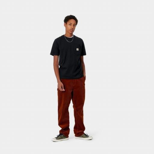 CARHARTT Camiseta S/S Pocket Black [2]