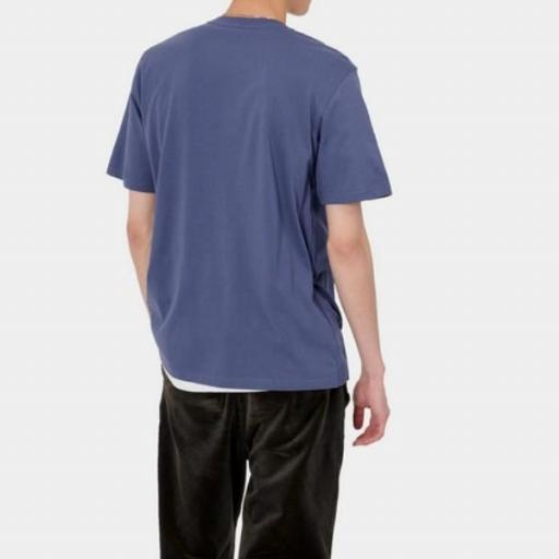 CARHARTT Camiseta S/S Pocket Cold Viola [0]