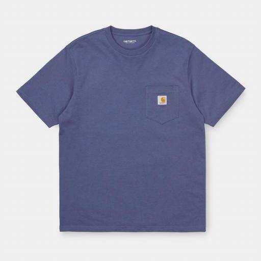 CARHARTT Camiseta S/S Pocket Cold Viola [2]