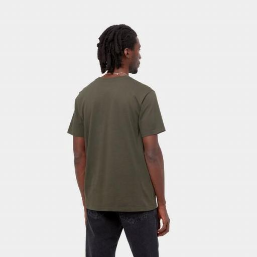 CARHARTT Camiseta S/S Pocket Cypress [0]