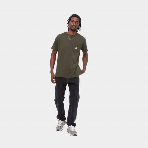 CARHARTT Camiseta S/S Pocket Cypress [2]