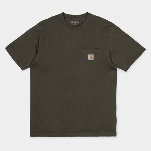 CARHARTT Camiseta S/S Pocket Cypress [3]