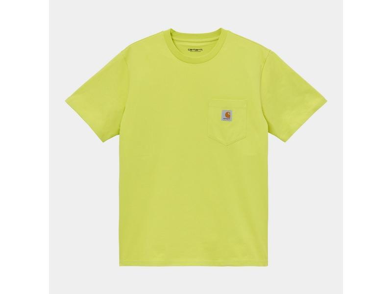 CARHARTT Camiseta S/S Pocket Limeade