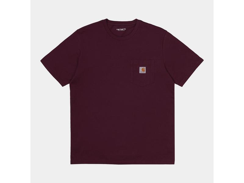 CARHARTT Camiseta S/S Pocket Shiraz