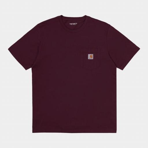 CARHARTT Camiseta S/S Pocket Shiraz