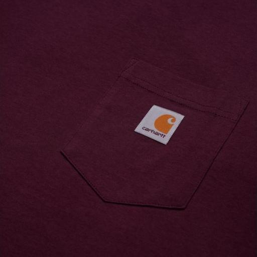 CARHARTT Camiseta S/S Pocket Shiraz [1]