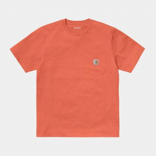 CARHARTT Camiseta S/S Pocket Shrimp