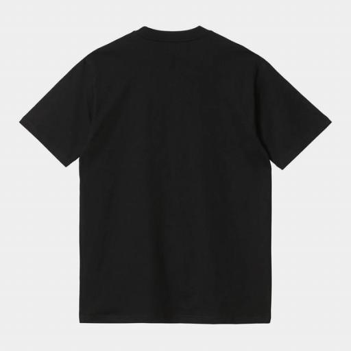 CARHARTT Camiseta S/S Range Script T-Shirt Black [1]