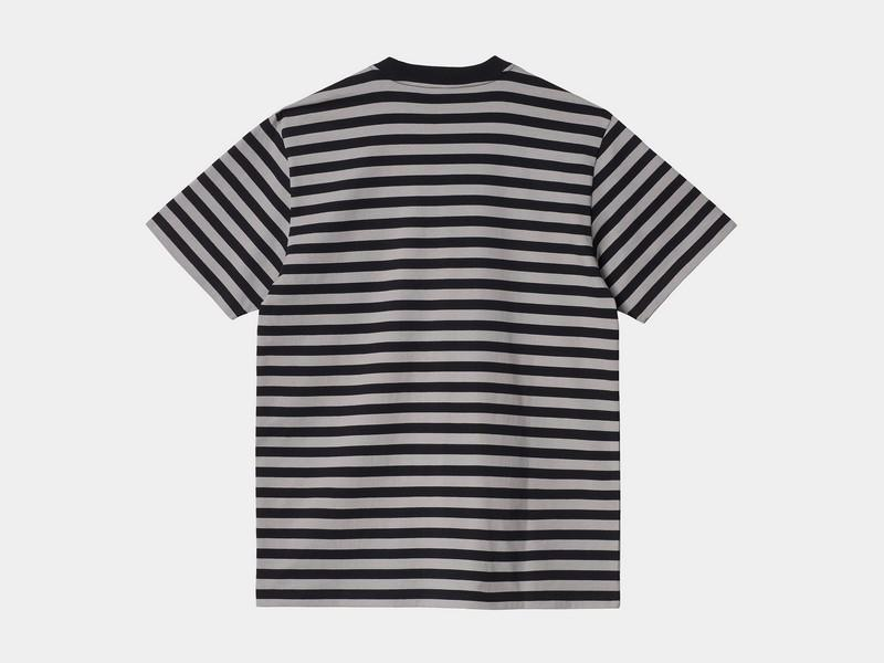 CARHARTT Camiseta S/S Scotty Pocket T-Shirt Black Hammer
