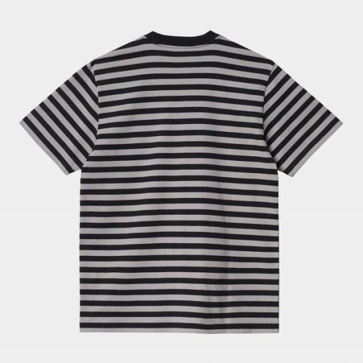 CARHARTT Camiseta S/S Scotty Pocket T-Shirt Black Hammer [0]