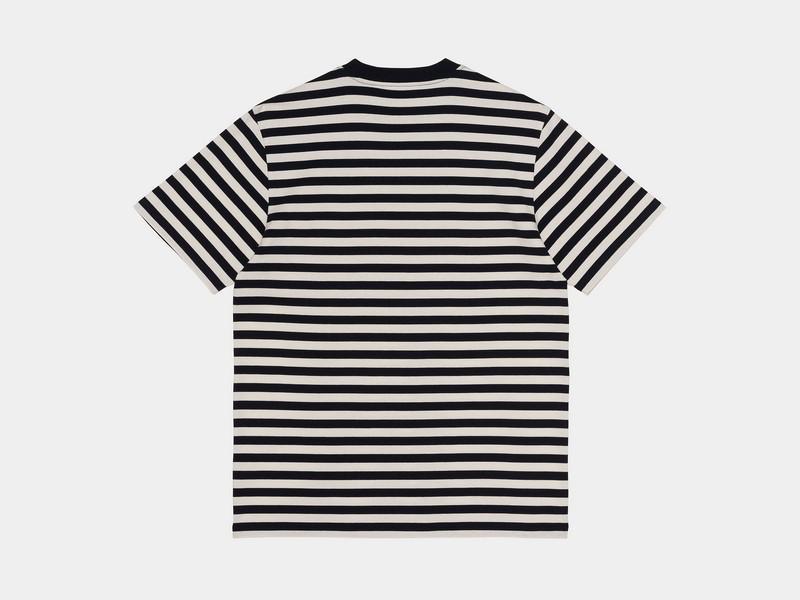 CARHARTT Camiseta S/S Scotty Pocket T-Shirt Dark Navy Wax