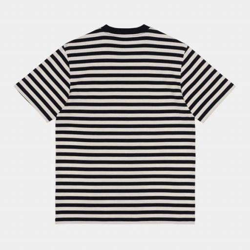 CARHARTT Camiseta S/S Scotty Pocket T-Shirt Dark Navy Wax [0]