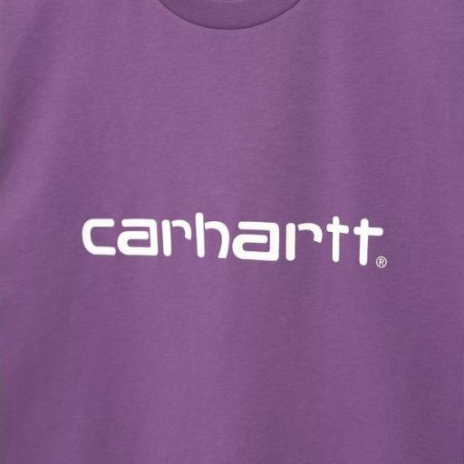 CARHARTT Camiseta S/S Script Aster White [2]