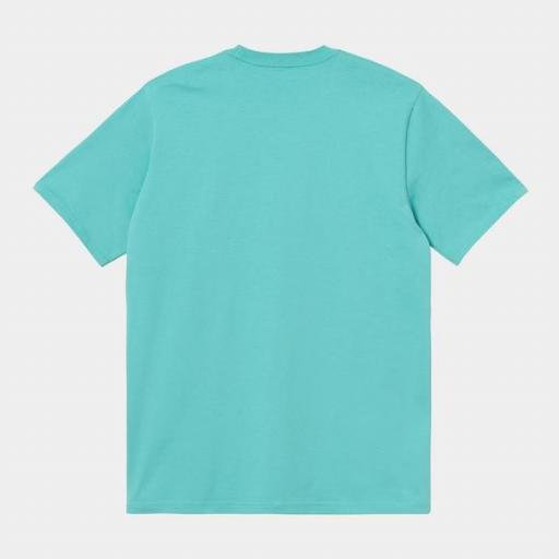 CARHARTT Camiseta S/S Script Bondi White [1]