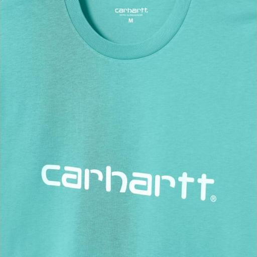 CARHARTT Camiseta S/S Script Bondi White [2]