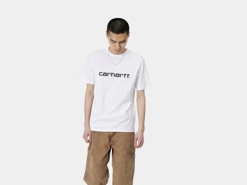 CARHARTT Camiseta S/S Script White Black
