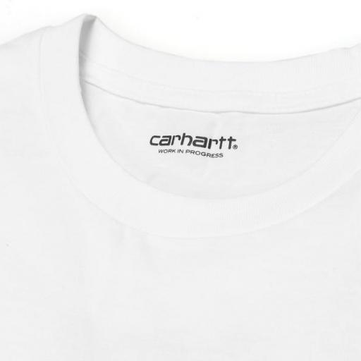 CARHARTT Camiseta S/S Script White Black [2]
