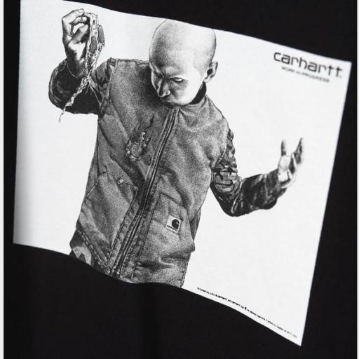 CARHARTT Camiseta S/S Shohei T-Shirt Black [2]