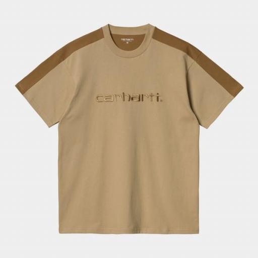CARHARTT Camiseta S/S Tonare T-Shirt Dusty H Brown / Hamilton Brown