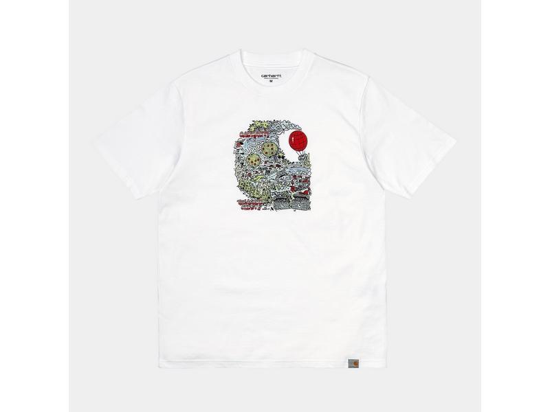 CARHARTT Camiseta S/S Treasure C T-Shirt White
