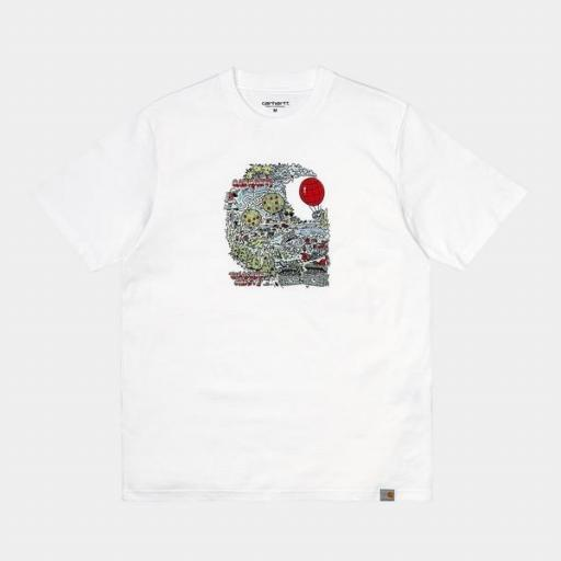 CARHARTT Camiseta S/S Treasure C T-Shirt White