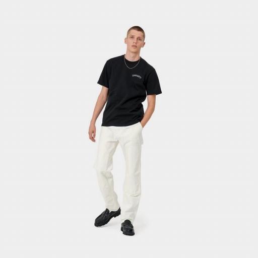 CARHARTT Camiseta S/S University Black White [2]