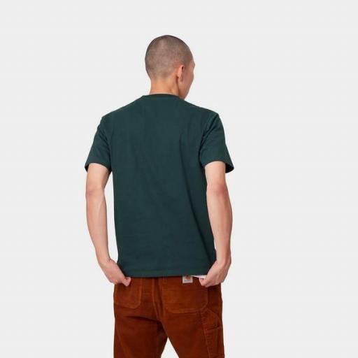 CARHARTT Camiseta S/S University Fraiser White [1]