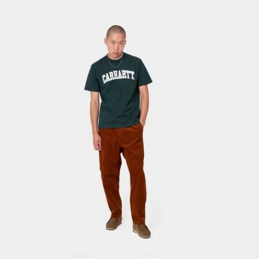 CARHARTT Camiseta S/S University Fraiser White [2]