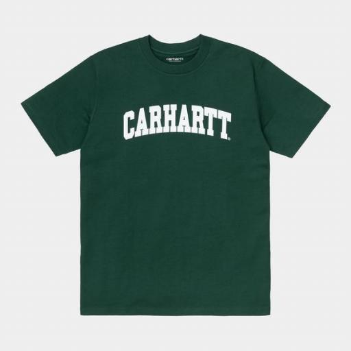CARHARTT Camiseta S/S University Treehouse White