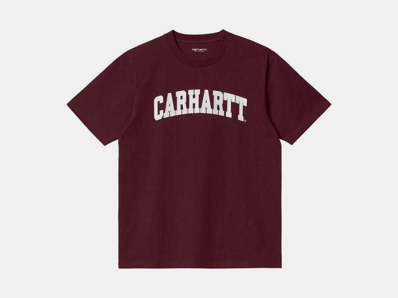 CARHARTT Camiseta S/S University Wine White