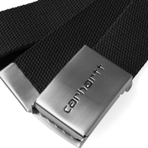 CARHARTT Cinturón Chrome Black [1]