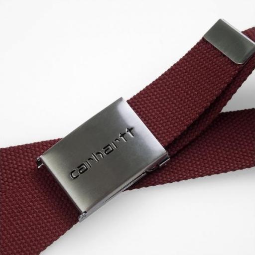 CARHARTT Cinturón Chrome Bordeaux [0]