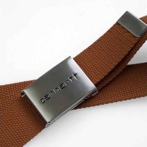 CARHARTT Cinturón Chrome Brandy [1]