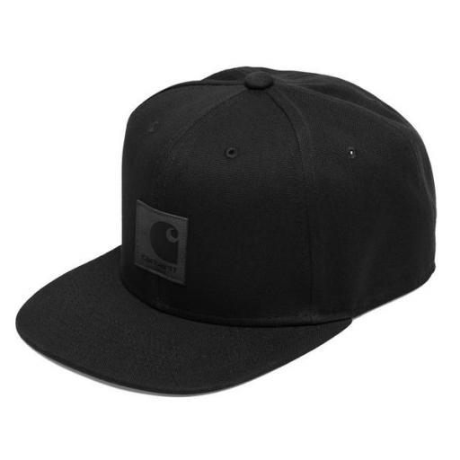 CARHARTT Gorra Logo Cap Black