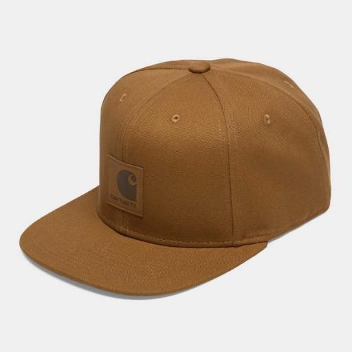 CARHARTT Gorra Logo Cap Hamilton Brown [0]