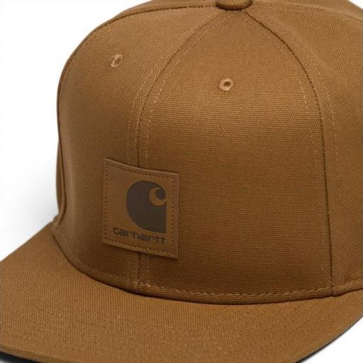 CARHARTT Gorra Logo Cap Hamilton Brown [1]