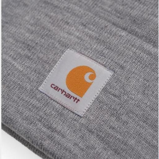CARHARTT Gorro Acrylic Watch Hat Grey Heather [0]