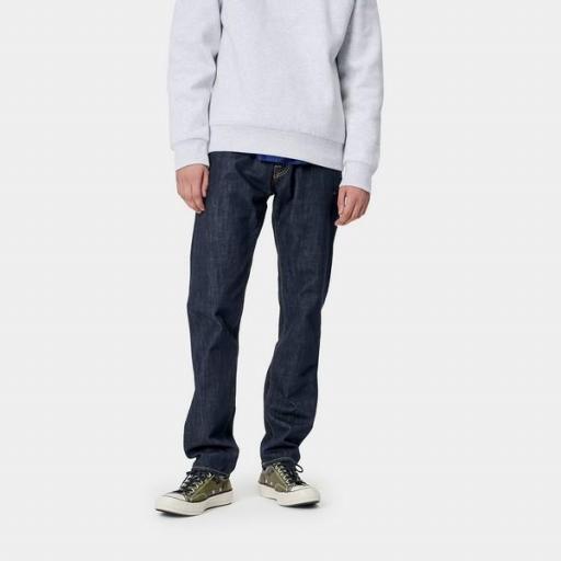 CARHARTT Pantalón Klondike Pant Blue Rinsed [3]