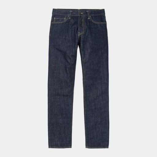 CARHARTT Pantalón Klondike Pant Blue Rinsed [2]