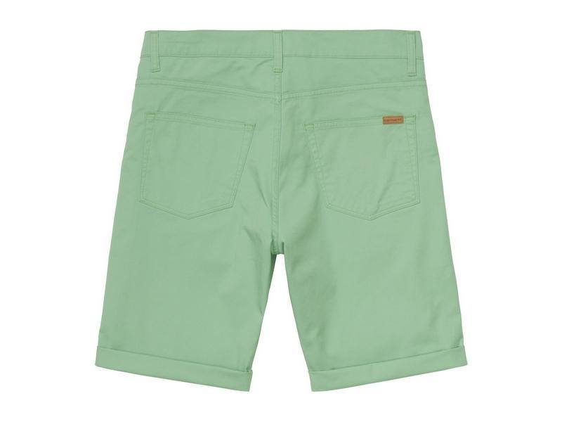 CARHARTT Pantalón corto Swell Mineral Green Rinsed