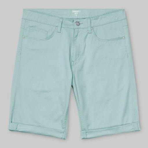 CARHARTT Pantalón corto Swell Soft Aloe Rinsed [0]