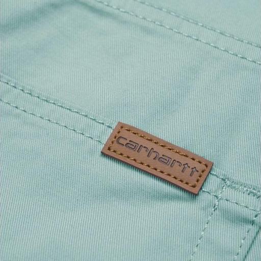 CARHARTT Pantalón corto Swell Soft Aloe Rinsed [1]