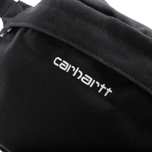 CARHARTT Riñonera Payton Hip Bag Black White [1]