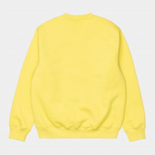 CARHARTT Sudadera Sweatshirt Limoncello Black [1]