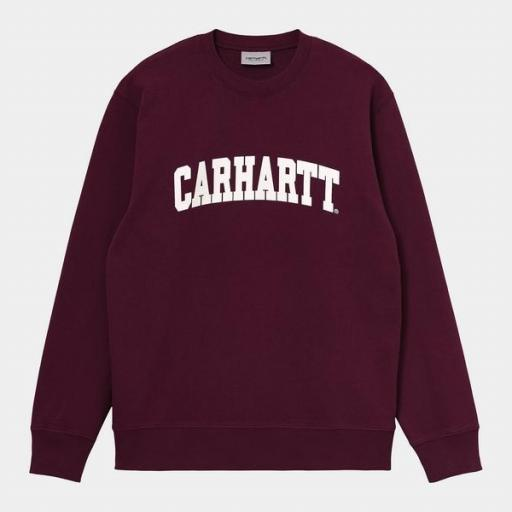 CARHARTT Sudadera University Sweat Shiraz White