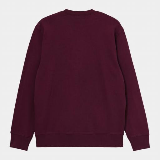 CARHARTT Sudadera University Sweat Shiraz White [1]